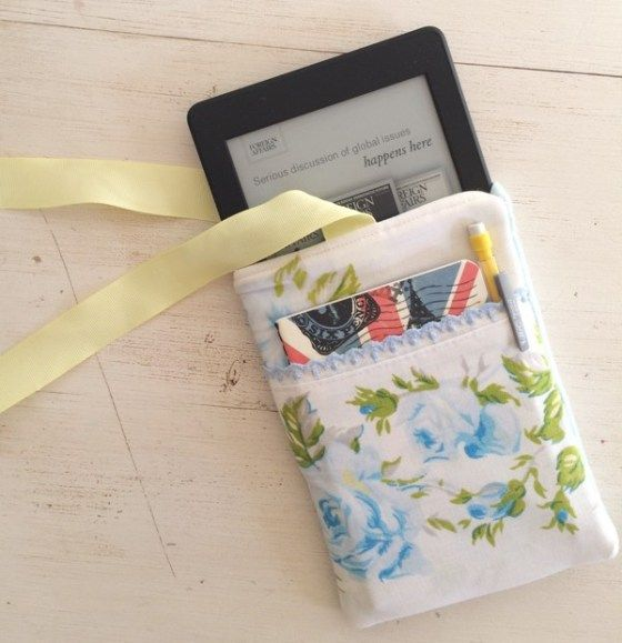 How to Sew an Easy Kindle Case - Simple Shabby Chic