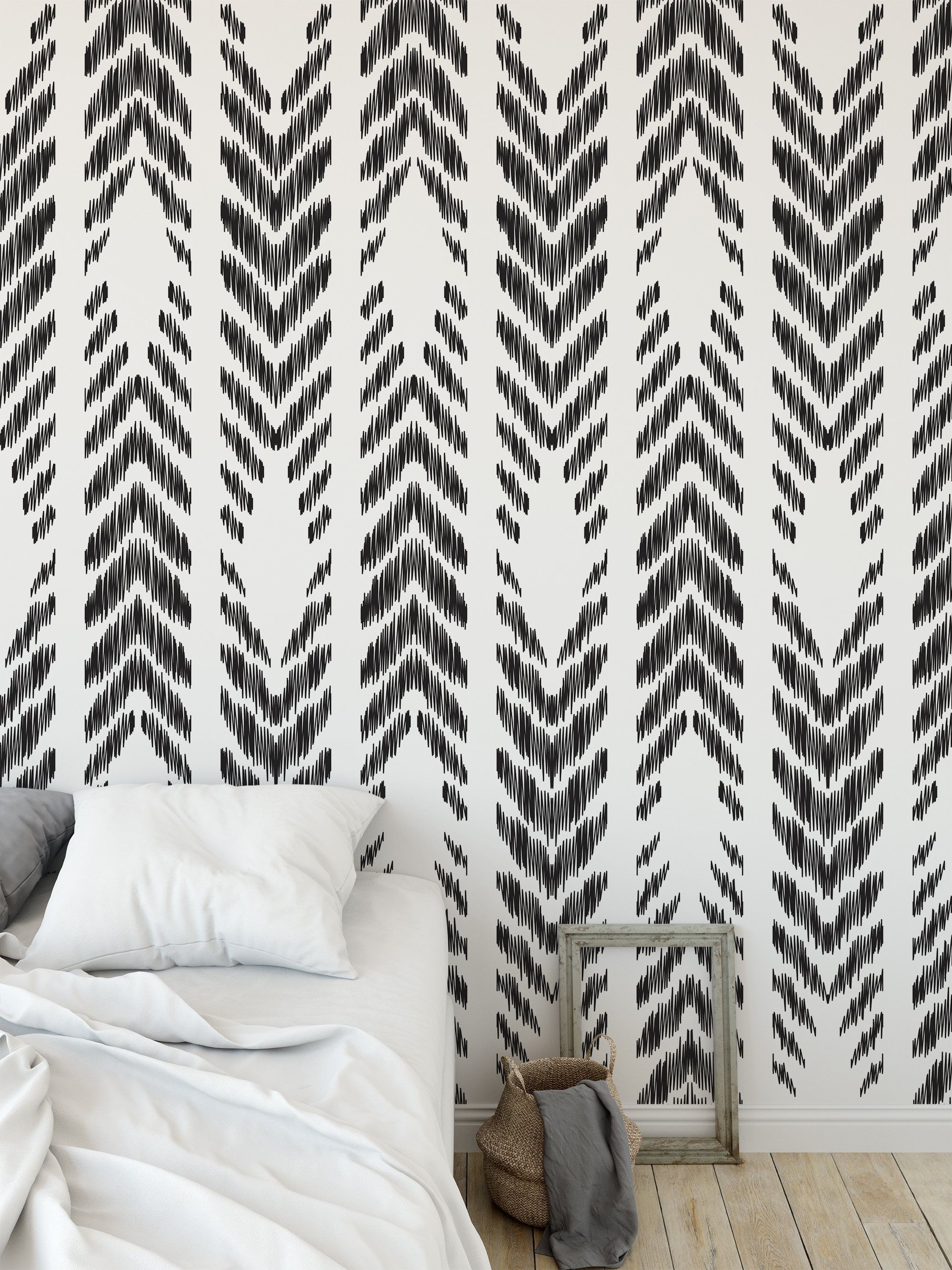 High Quality Repositionable Removable Self Adhesive Peel And Etsy Peel And Stick Wallpaper Vinyl Wallpaper Accent Wall Bedroom