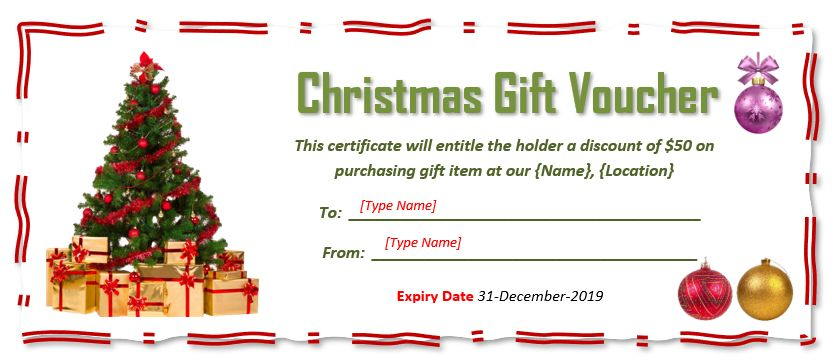 Best Free Christmas Gift Certificate Templates In 2021 Gift Certificate Template Christmas Gift Certificate Template Free Christmas Gifts