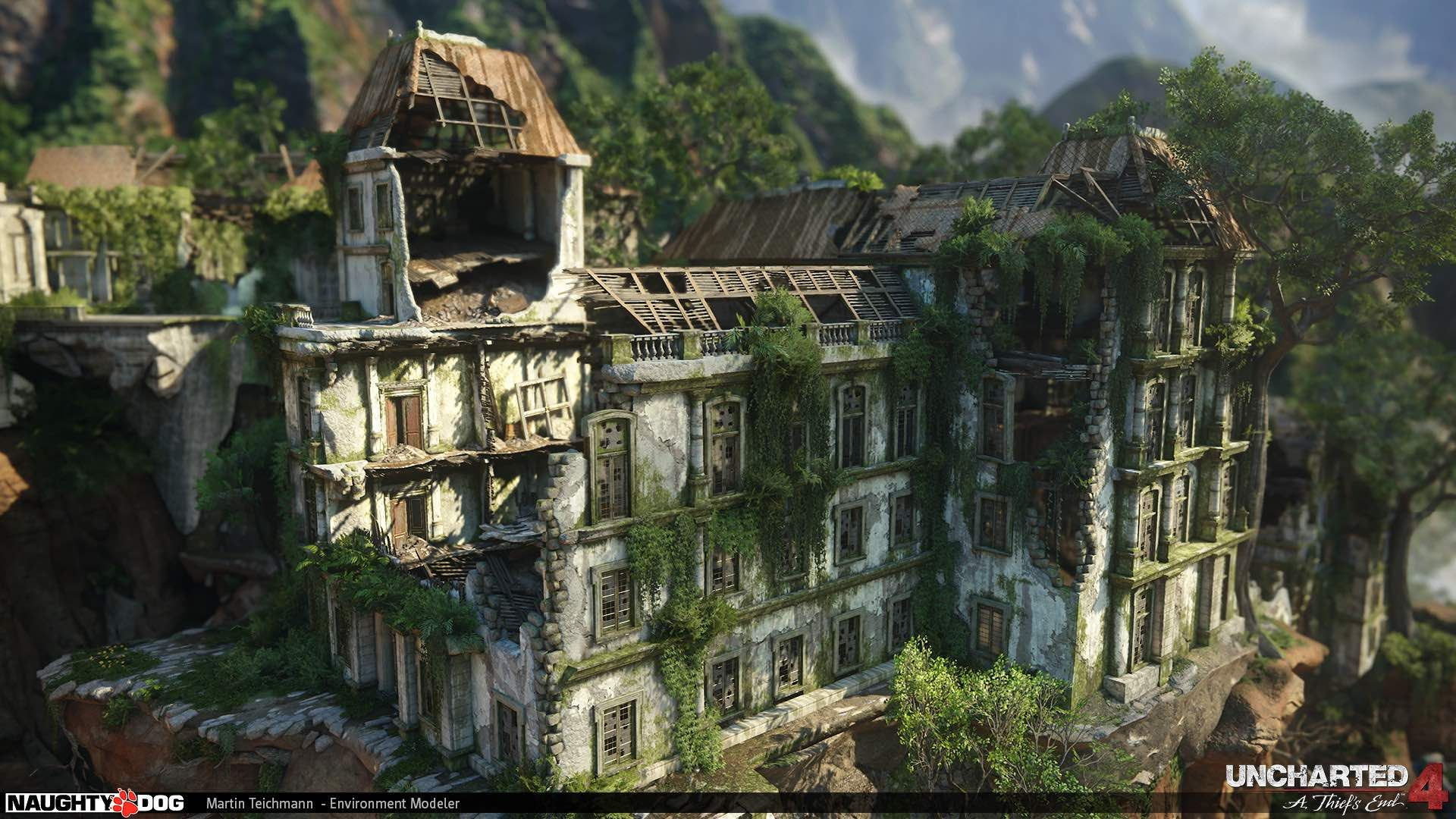 The Art Of Uncharted 4 100 Concept Art Collection Concept Art
