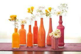 Resultado de imagen de decoracion de botellas