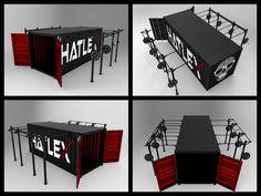 HATLEX® Store OUTDOOR CONTAINER - CROSS TRAINING