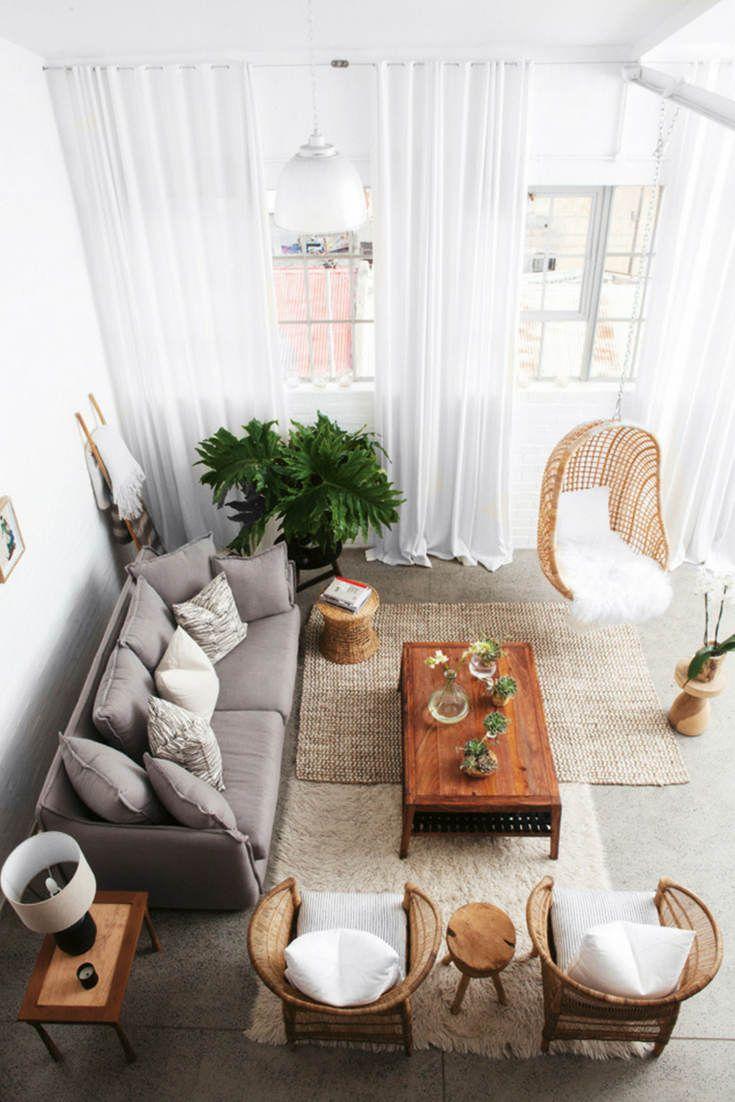 Inspiration The Layered Rug Look Hello Norden Living Room Scandinavian Bohemian Living Rooms Perfect Living Room