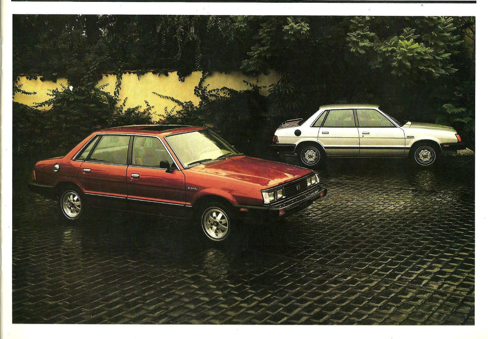 Subaru Brochure Catalog Dl Gl Station Wagon Hatchback