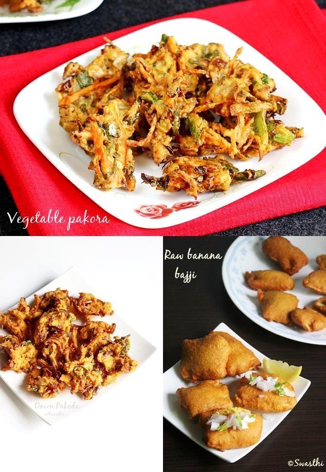 Pakora recipes pinterest pakora recipes indian food recipes and 17 pakora bajji recipes for snack recipe forumfinder Images