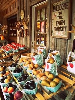 Welcome to the Farm Market ...