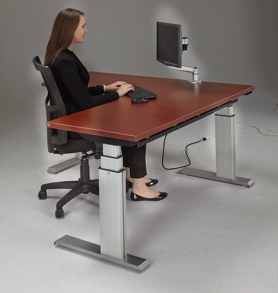Newheights Corner Height Adjustable Standing Desk Escritorios  # Muebles Sedutti