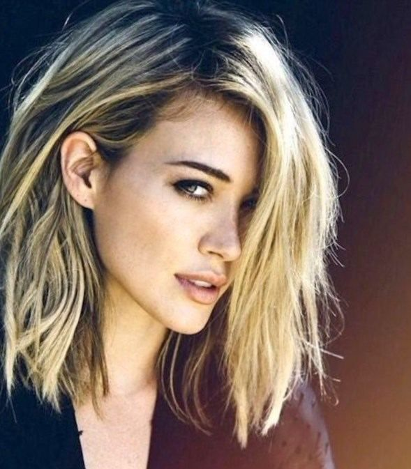 Coupe De Cheveux Femme Mi Long Blond 2017