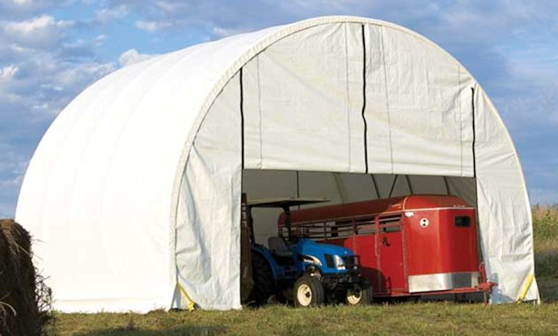 Sun, Wind, & Snow Safe Portable Garage Shelters. Brand NEW ...