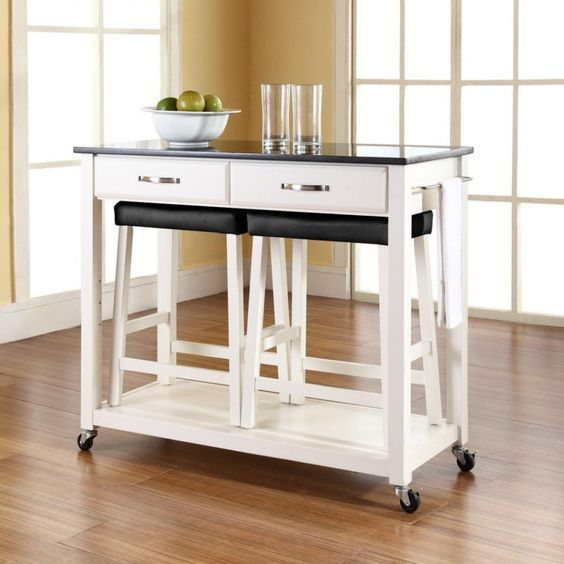 Awesome Kitchen Island Cart The Efficient Kitchen Equipment For Short Links Chair Design For Home Short Linksinfo