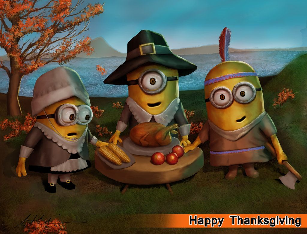 Image result for minion thanksgiving