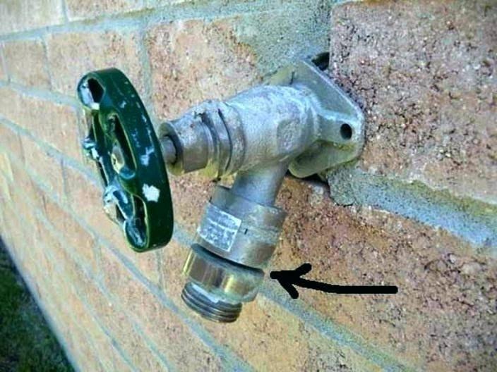 arrowhead faucet vacuum breaker outdoor