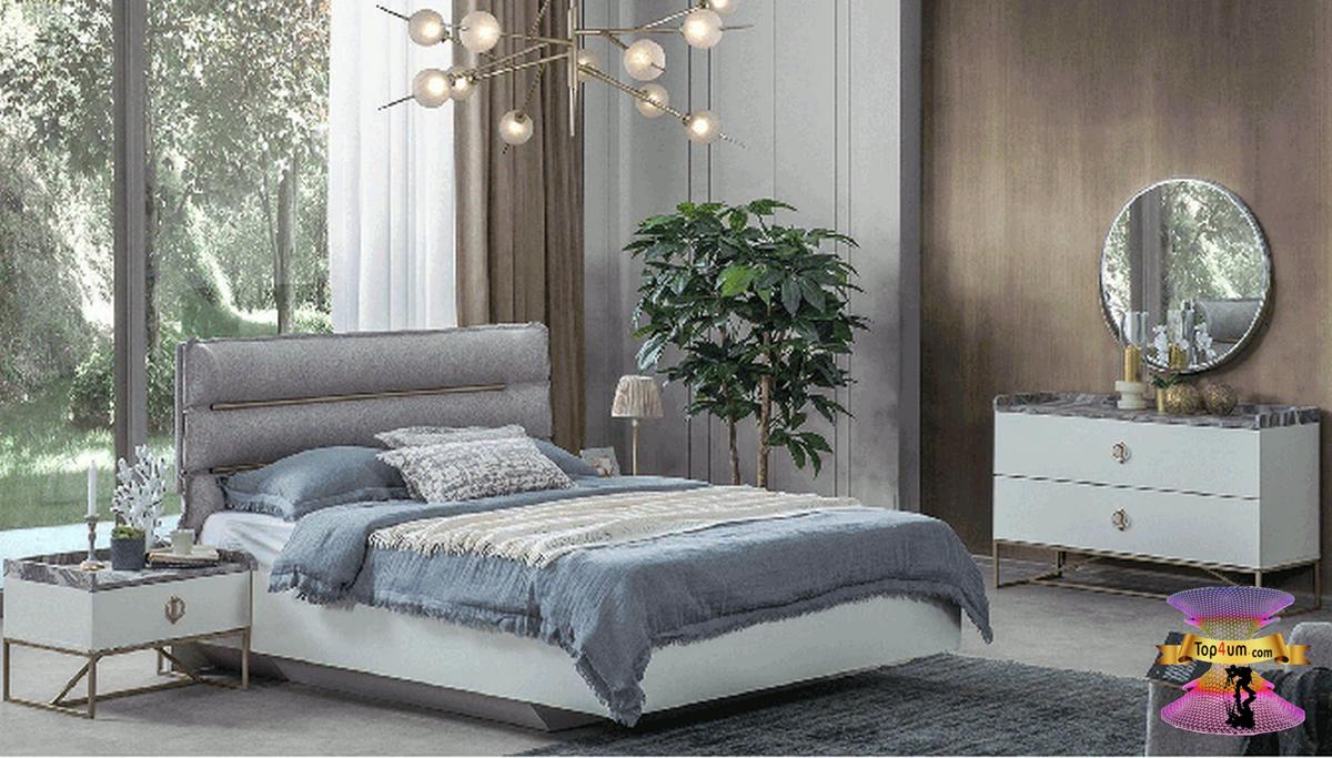 احدث كتالوج صور غرف نوم 2021 Bedroom Designs Bedroom Bed Design Bedroom Furniture Design Modern Bedroom