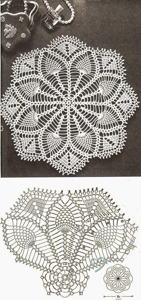 Carpetas a crochet | croche | Pinterest | Carpeta, Patrón de ...