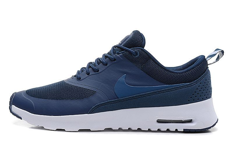 £64.99 Nike Air Max Thea Mens Navy White Orange | Shoes world! | Pinterest  | Air max thea, Air max and Navy