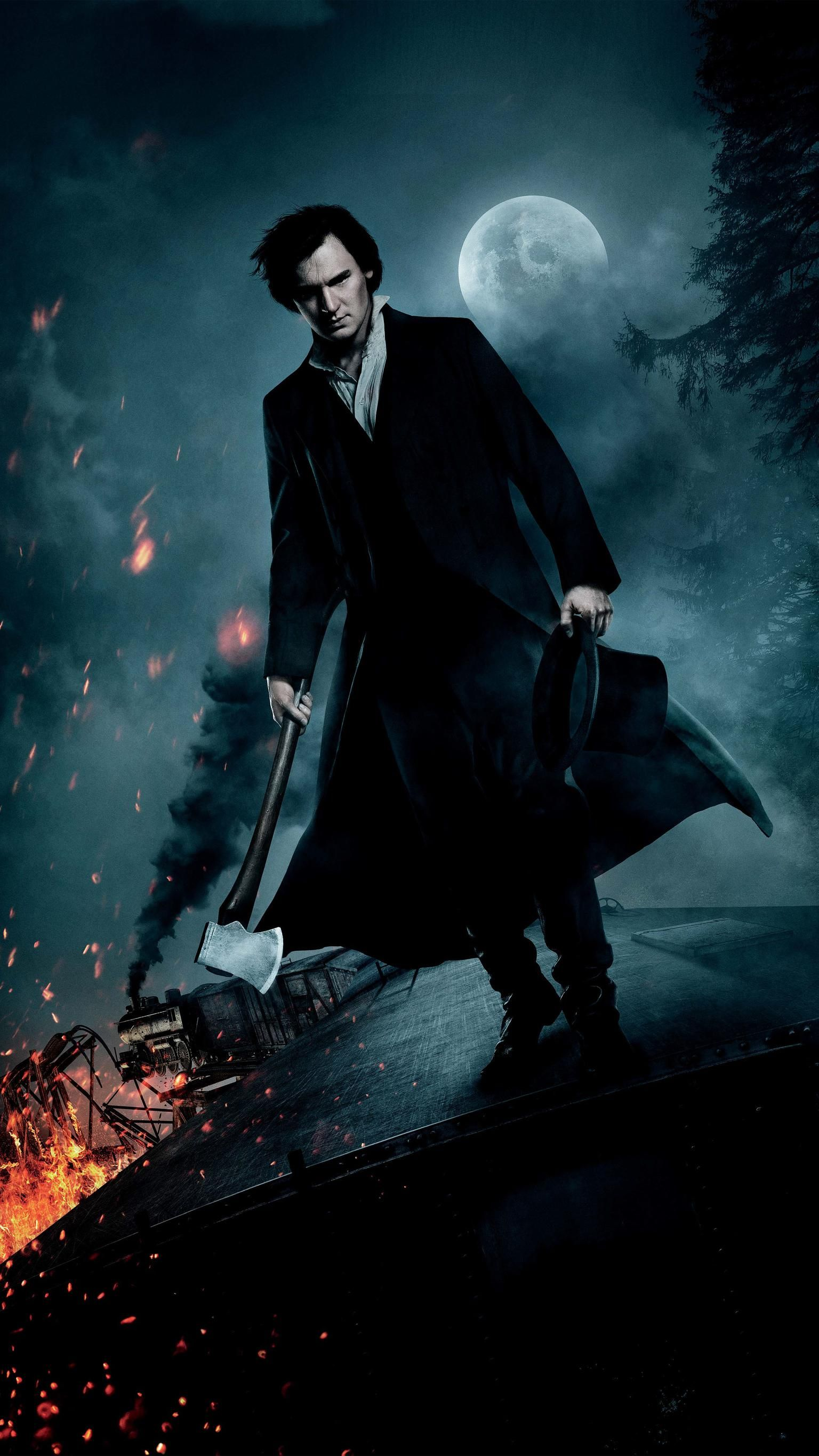 Abraham Lincoln Caçador De Vampiros Online Dublado Completo abraham lincoln: vampire hunter (2012) phone wallpaper in