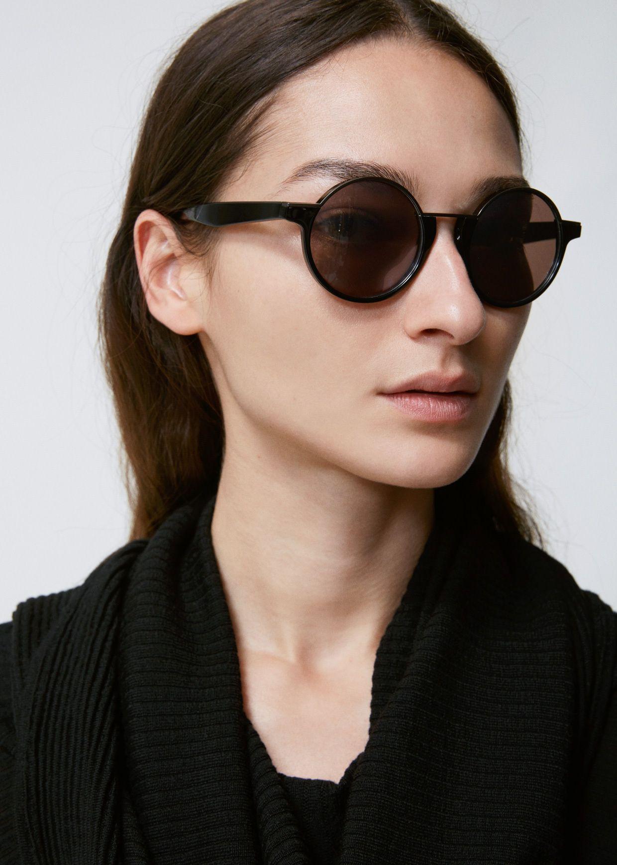 round frame sunglasses - Black Yohji Yamamoto oLo3dKS