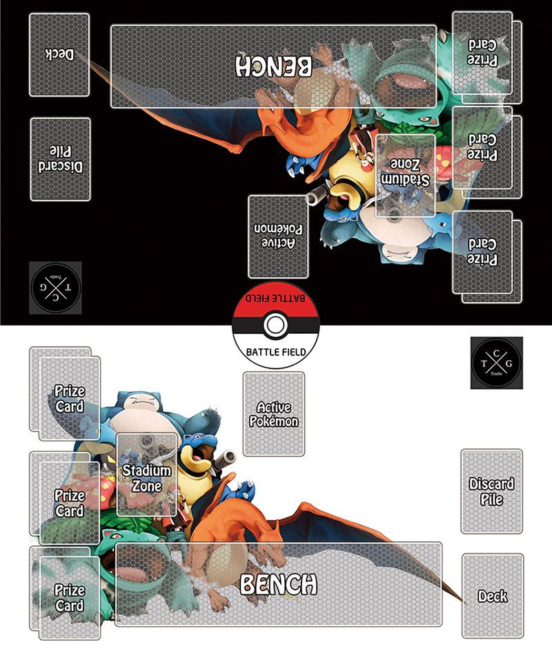 How To Make Pokemon Tcg Playmat Template Step By Step