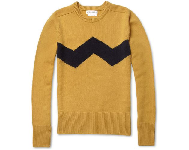 Michael Bastian Zig Zag 'Charlie Brown' Sweater • Selectism ...