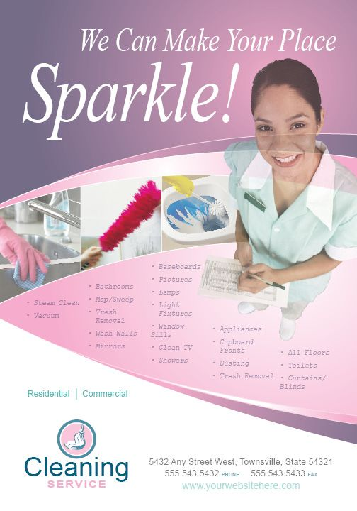 House Cleaning Services Flyer Templates Images Pictures Becuo