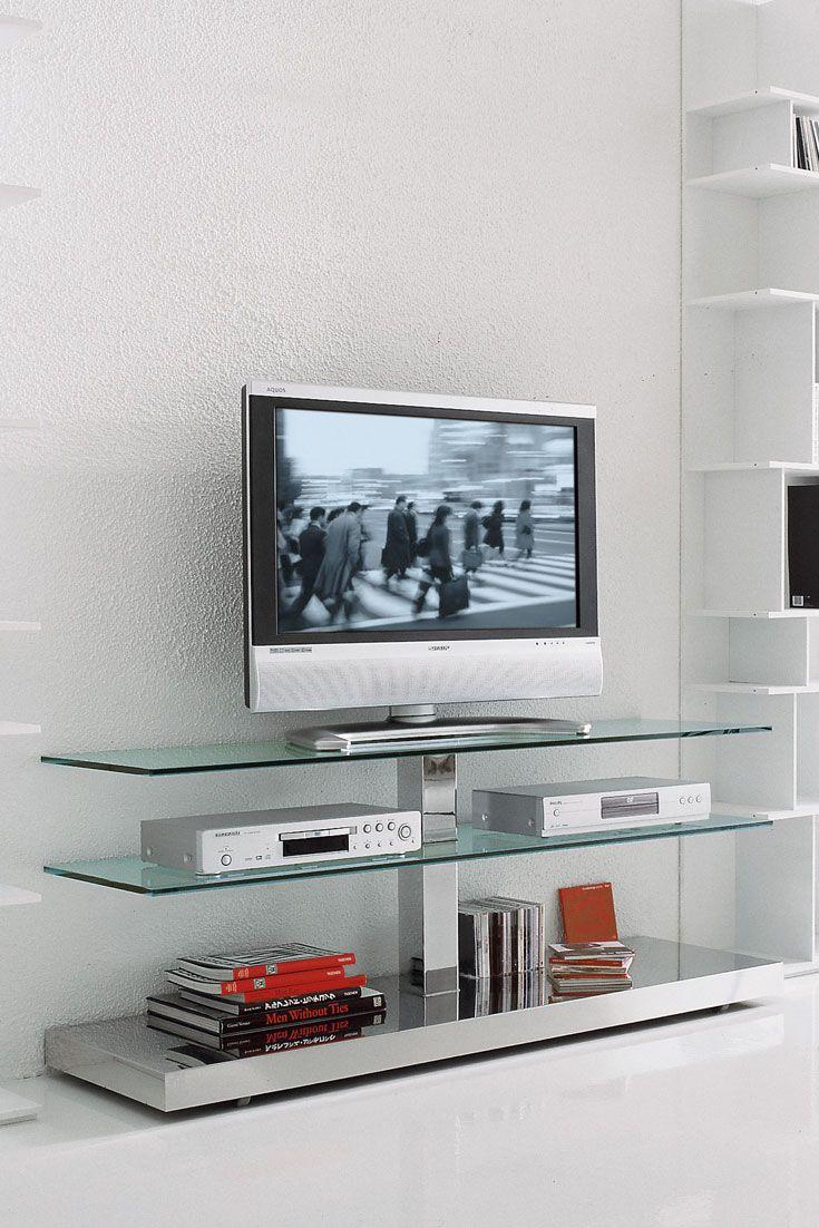 Muebles Para Television De Cristal