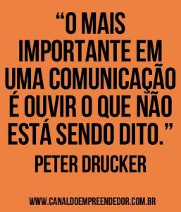 Canal d Empreendedor | Peter Drucker
