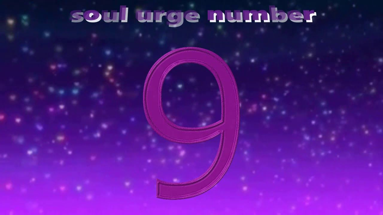 Soul urge Number 9   Numerology Meaning   numerology