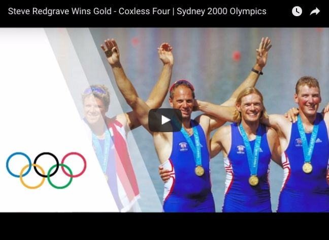 11 great moments from Olympic Games history Steve Redgrave wins Gold Rowing 2000