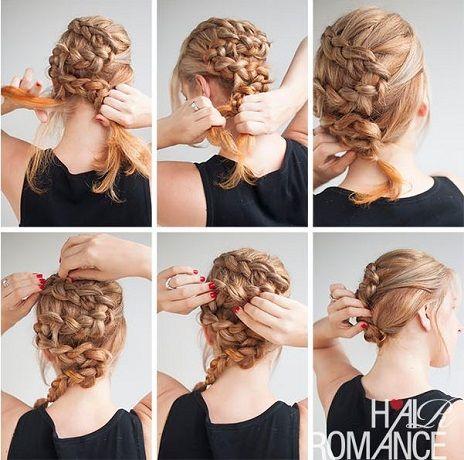 xtenismata me pleksoudes wedding hairstyles