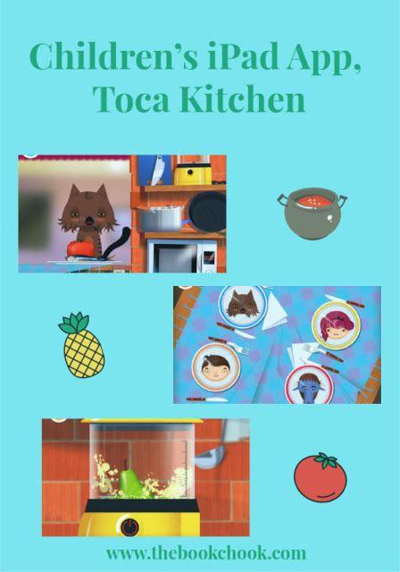 Children's IPad App, Toca Kitchen