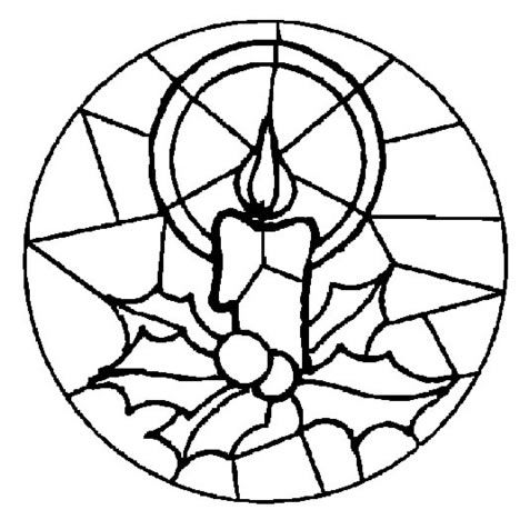 Vidrieras Para Pintar E Imprimir Christmas Coloring Pages Mandala Coloring Pages Stained Glass Christmas