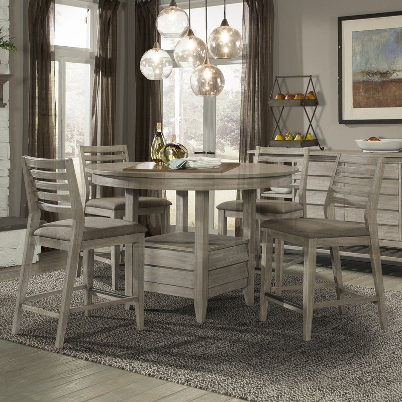 Moen 5 Piece Dining Set & Reviews  Birch Lane  Dining Room Best Grey Dining Room Sets Review