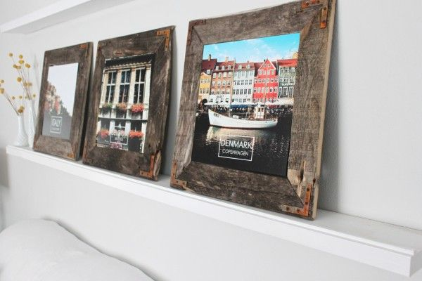 30 Stunning Diy Picture Frame Ideas In Order To Relish Some Good Memories Diy Picture Frames Diy Wall Decor Diy Frame