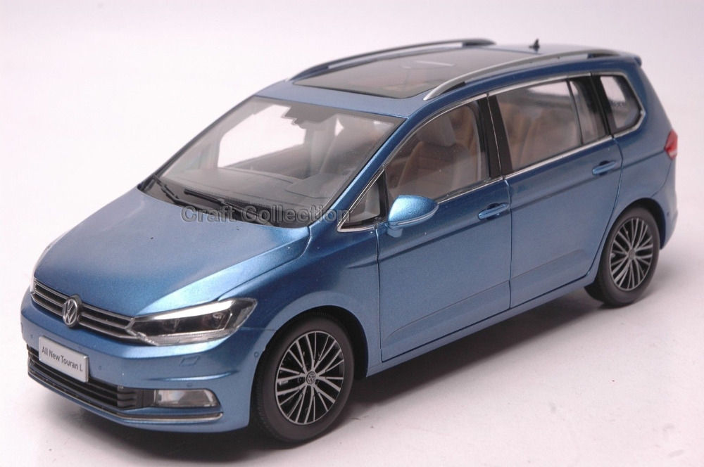 68.80$  Know more - http://ai7e1.worlditems.win/all/product.php?id=32739742836 - *Blue 1:18 Volkswagen VW Touran L 2016 MPV Diecast Model Van Classical MPV Collection Off Road Commercial Vehicle