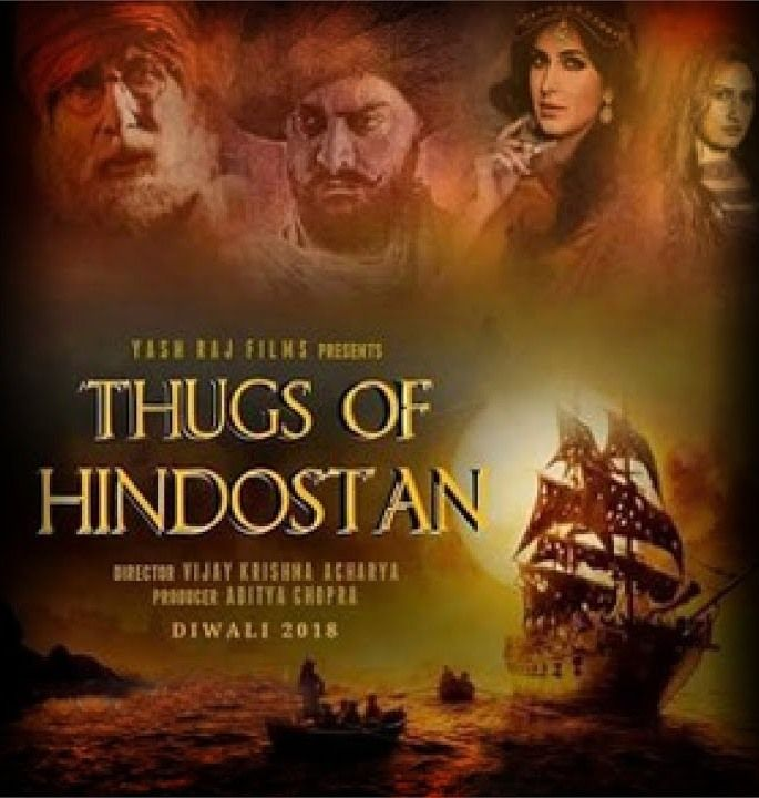 Watch' Thugs Of Hindostan FULL MOVIE HD1080p Sub English