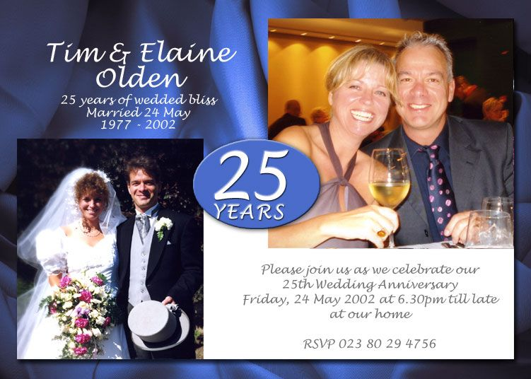 Th wedding anniversary invitations source
