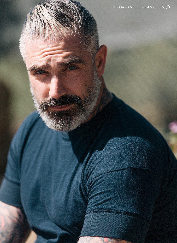 Signature sleeve basic tee men pinterest beard styles hair