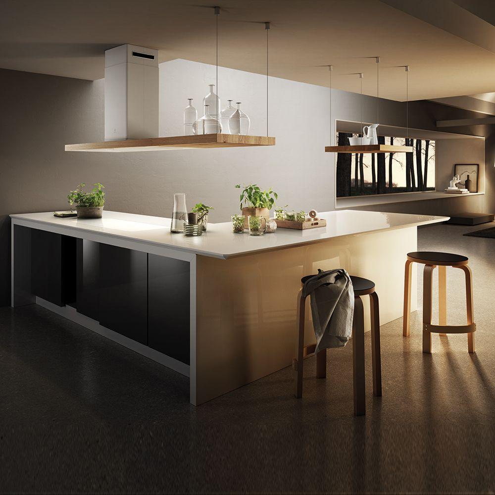 Bio island elica kitchen nel 2019 k che dunstabzugshaube e k chen design - Costruire cappa cucina ...