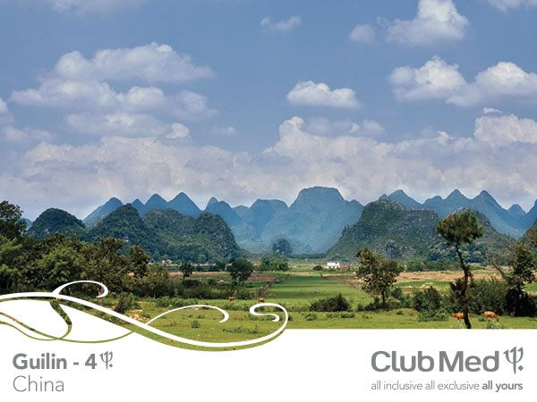 #guilin #china #clubmed #holiday