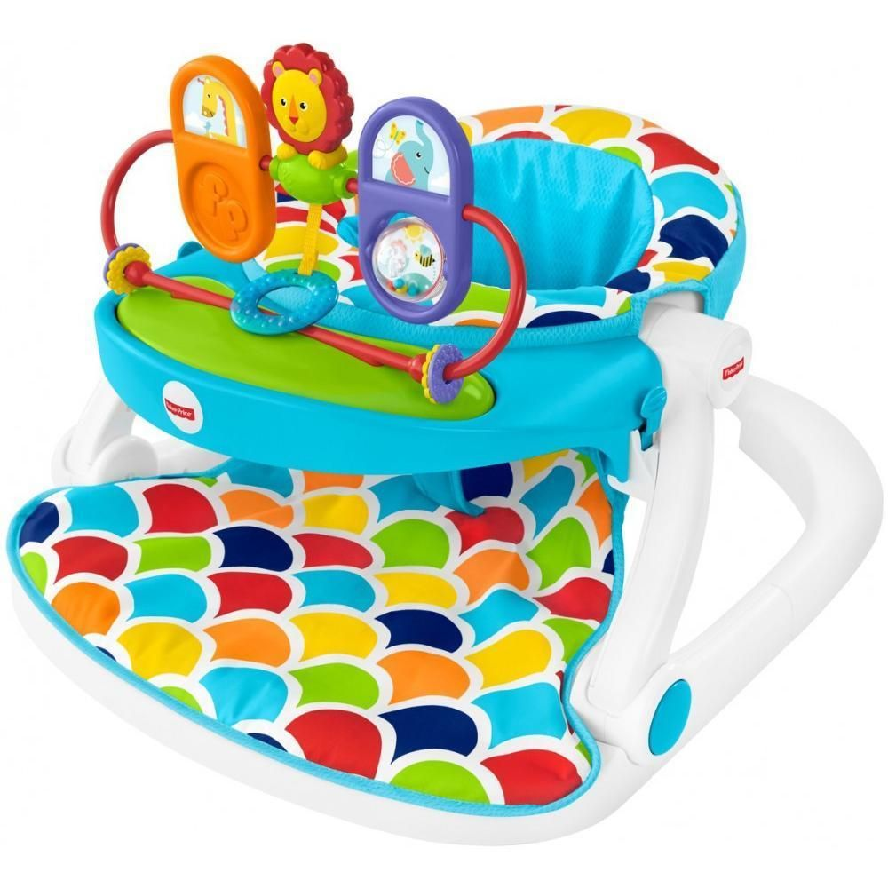 Fisher Price Sit Me Up Floor Seat With Toy Tray Fisherprice Toy