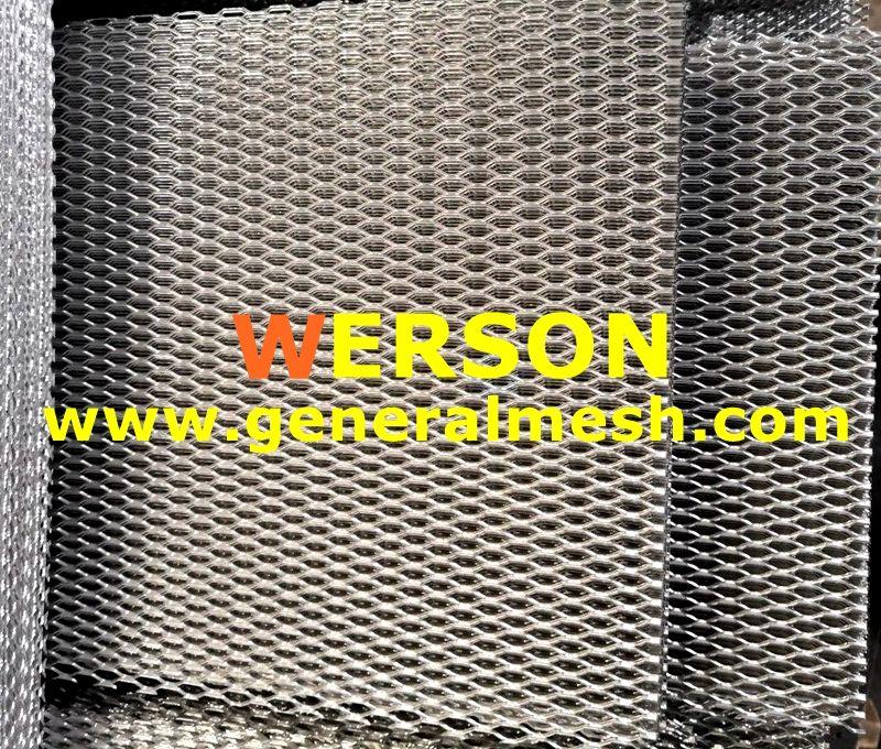Aluminium Mesh Diamond Grille 100 X 33cm Mesh Design Metal Wire Mesh
