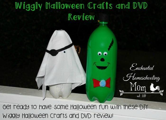 DIY Halloween  DIY Wiggly Halloween Crafts and DVD Review DIY - halloween diy crafts