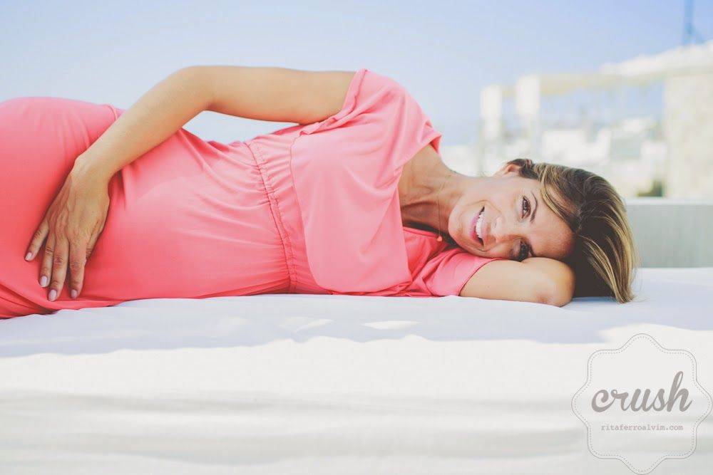 Rita Ferro Alvim: A grávida mais gira.