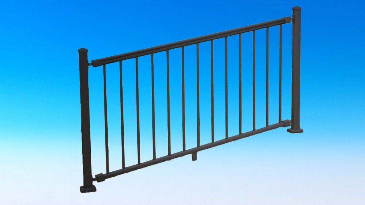Best Impression Stair Rail Kit By Azek Timbertech Stair 400 x 300