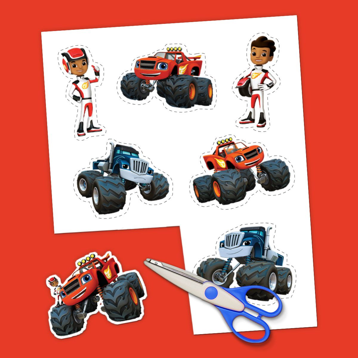 The 6 Best Blaze Printables Of All Time Blaze And The Monster Machines Party Blaze Birthday Party Blaze Birthday [ 1200 x 1200 Pixel ]