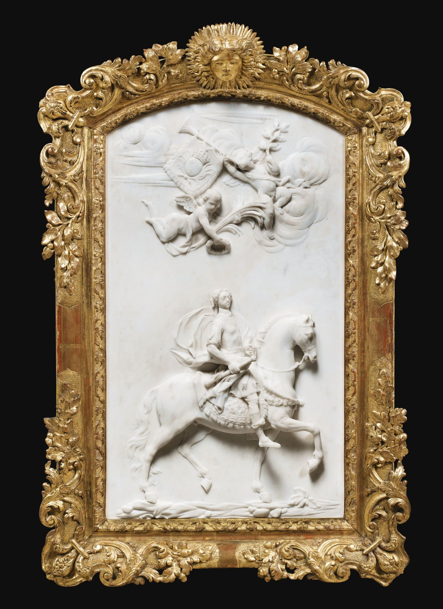 Equestrian Portrait Of Phili Relief Sotheby S  # Muebles Federici
