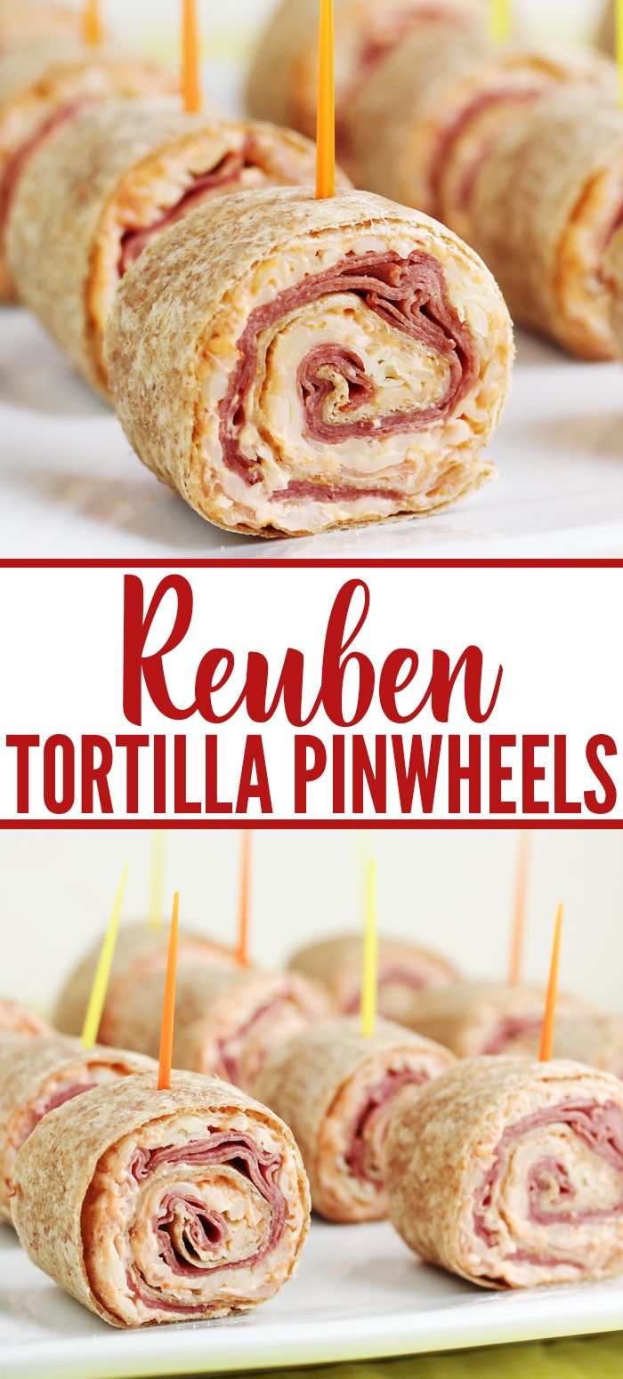 Photo of Reuben Tortilla Pinwheels