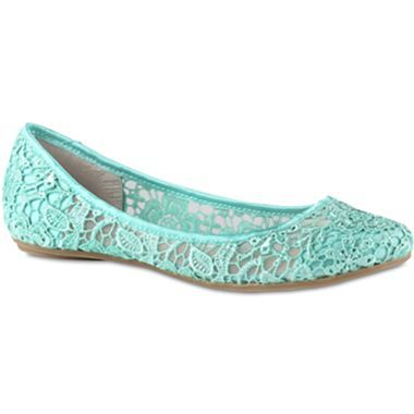 e4321345bc15 Call It Spring™ Taibi Lace Ballet Flats - jcpenney
