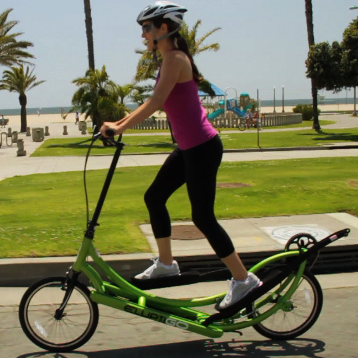 Elliptical/bike! I want one! Cool!