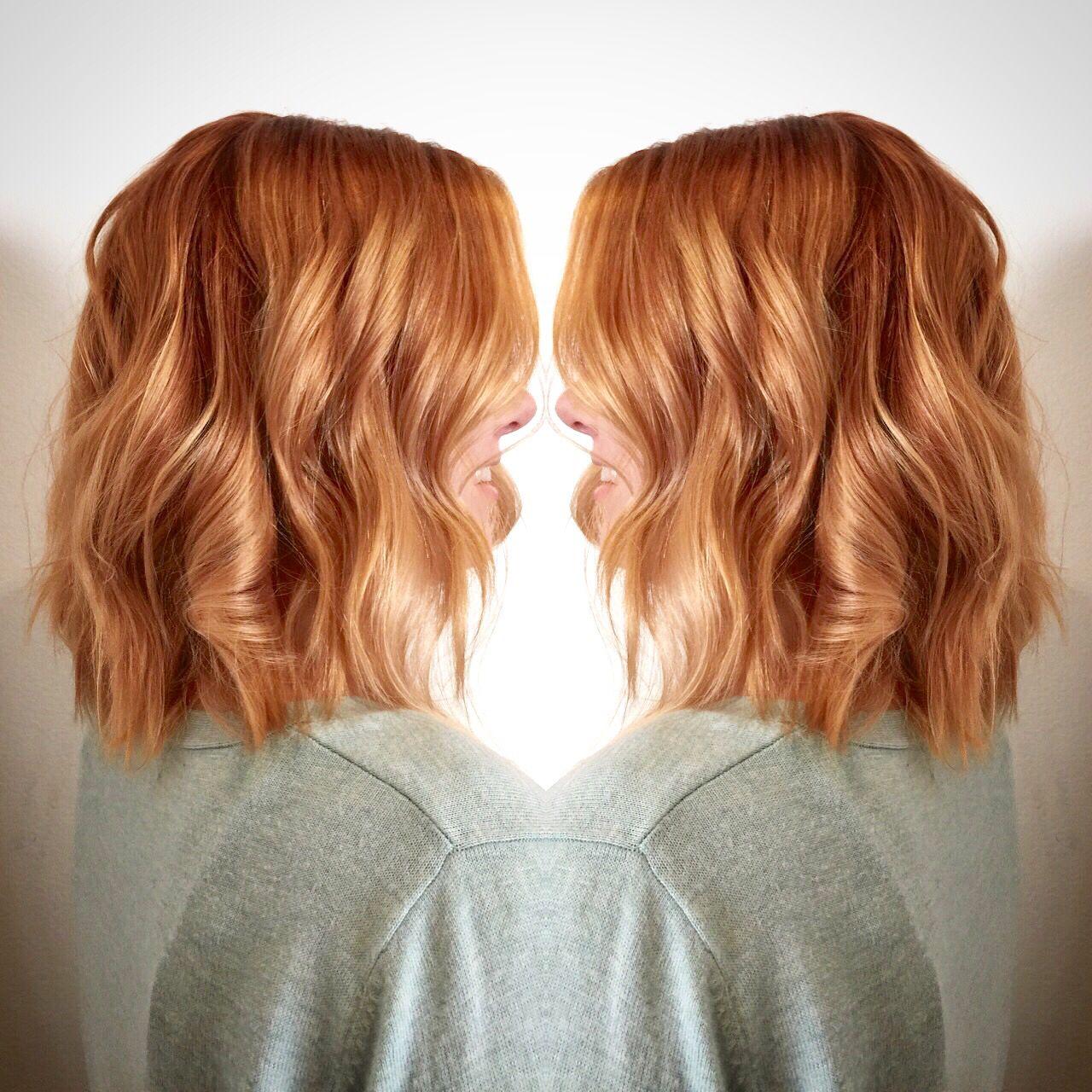 Copper Balayage By Jordan Hair In 2018 Pinterest Copper
